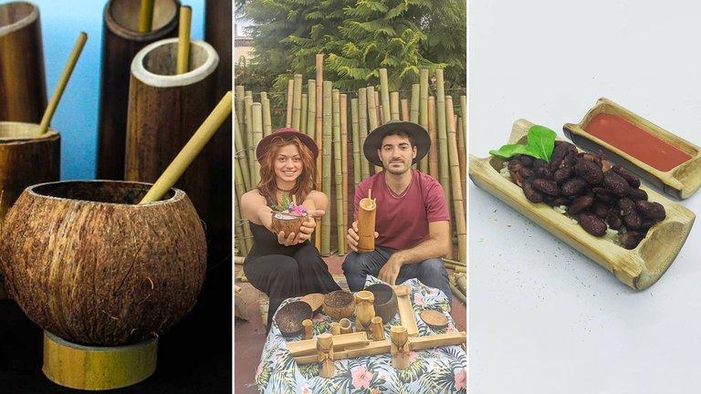 Arte sustentable orientado a la gastronomía: cómo es el proyecto de dos argentinos 100% eco-friendly
